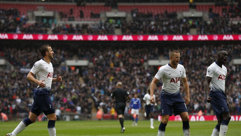 Eric Dier was on target for Tottenham