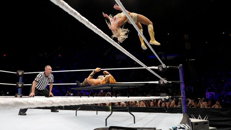 Check out the best moves from WWE's first all-women's pay-per-view event, Evolution