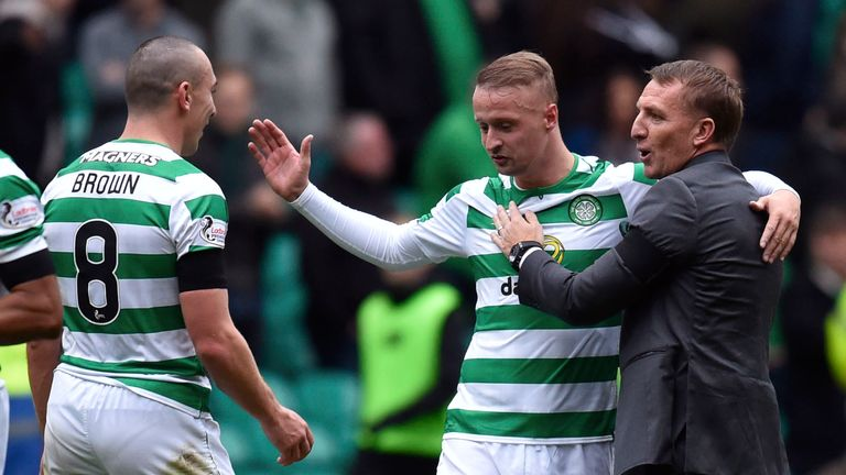 Brendan Rodgers is looking for forwards after Leigh Griffiths took time out from playing