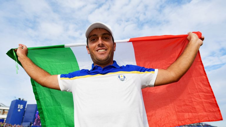 Francesco Molinari inspired Europe to Ryder Cup glory in 2018