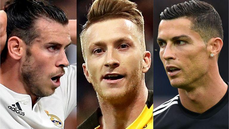 Gareth Bale, Marco Reus and Cristiano Ronaldo have had contrasting starts to the season