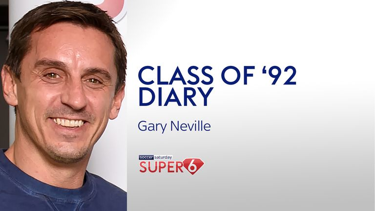 Gary Neville pens his latest Super 6 diary