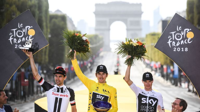 Thomas's Tour de France trophy stolen in Birmingham
