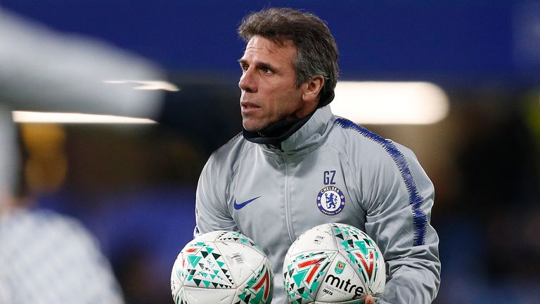Gianfranco Zola was re-admitted to hospital after complications following gallstone surgery