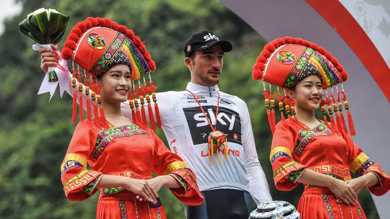 Gianni Moscon is the Tour of Guangxi champion