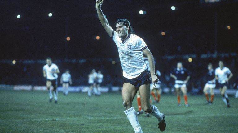Glenn Hoddle earned 53 England caps during his glittering career