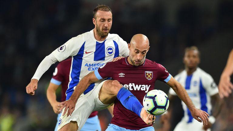 Pablo Zabaleta has emerged as West Ham's first-choice right-back this season