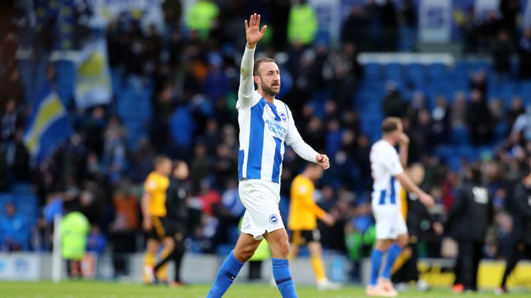 Glenn Murray scored his 100th Brighton goal