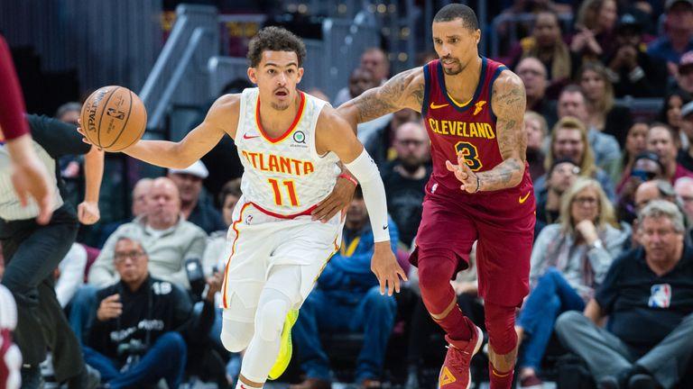 Hawks at Cavaliers