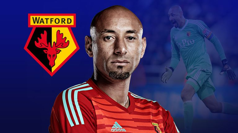Watford goalkeeper Heurelho Gomes talks exclusively to Sky Sports