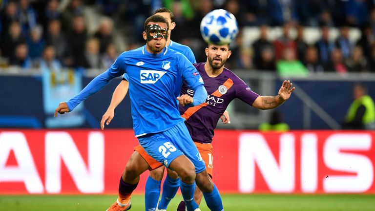 Hoffenheim were hosting their first home Champions League game