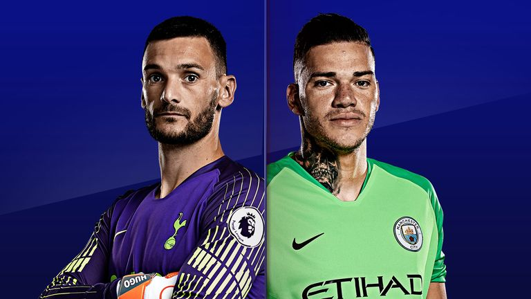Hugo Lloris and Ederson face off on Monday Night Football