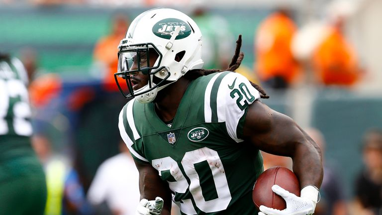 Isaiah Crowell has been cut after one season with the Jets