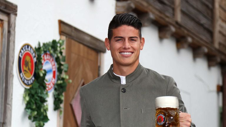 James Rodriguez is a reported target for Juventus