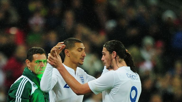 Jay Bothroyd replaced Andy Carroll to make his one-and-only England appearance in a friendly against France in November 2010