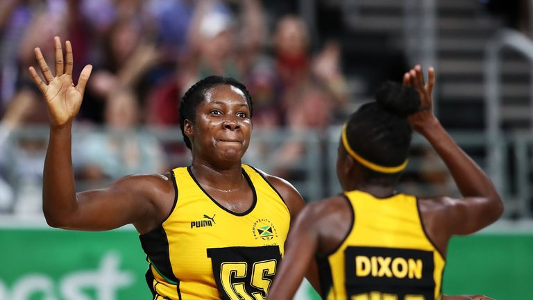 Jhaniele Fowler ripped through England Roses to build an unassailable 2-0 lead in the series