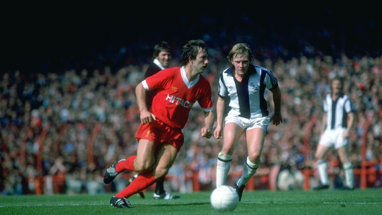 Liverpool only draw in their opening nine games of the 1978-79 season came against West Brom