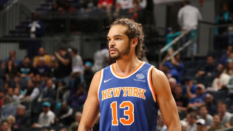 Joakim Noah moved to the New York Knicks from the Chicago Bulls in 2016