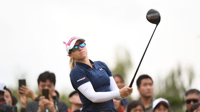 Hsu takes 2nd-round lead in Taiwan, Lydia Ko moves close