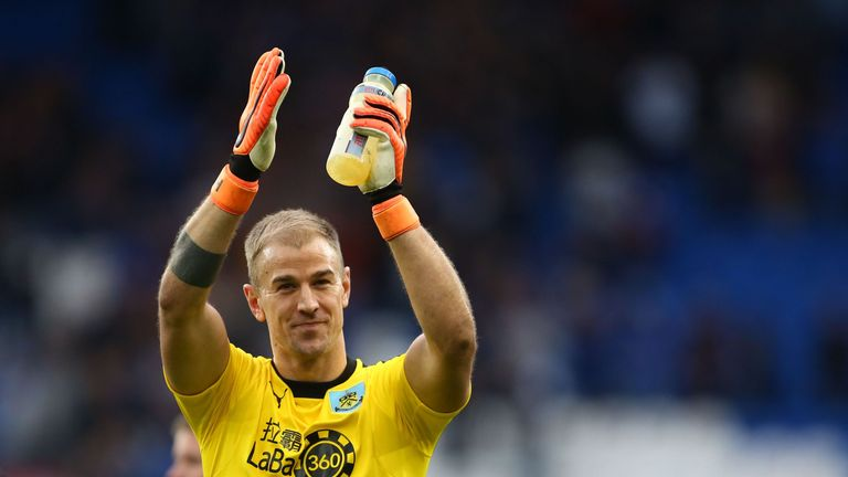 Joe Hart was back to his best as Burnley won at Cardiff
