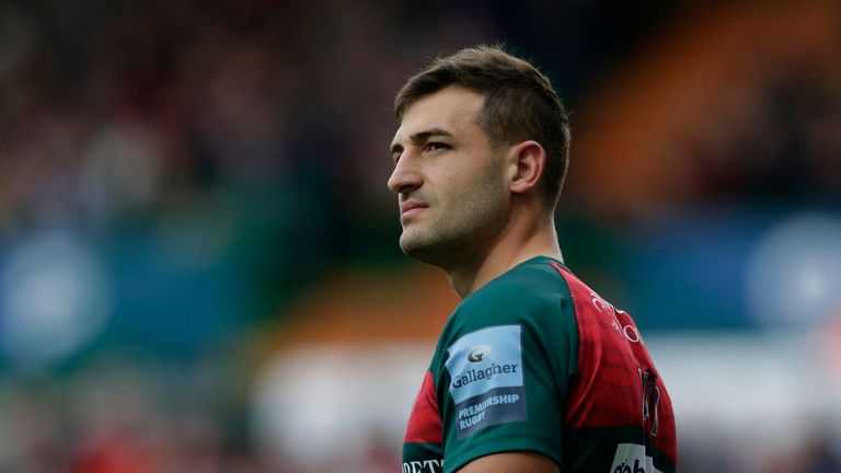 Jonny May's future at Leicester appears uncertain
