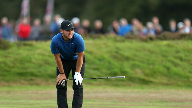 Jordan Smith wants to win in front of his idol, Justin Rose