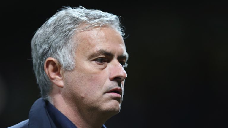Manchester United boss Jose Mourinho unable to speak about club's situation