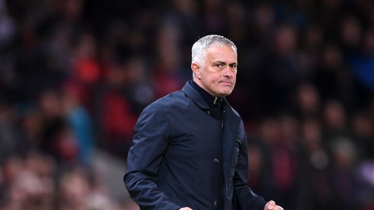 Jose Mourinho led Manchester United to a 3-2 win - but were they fortunate?