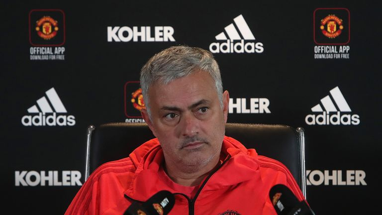 Mourinho believes Everton don't operate under the same pressure as United