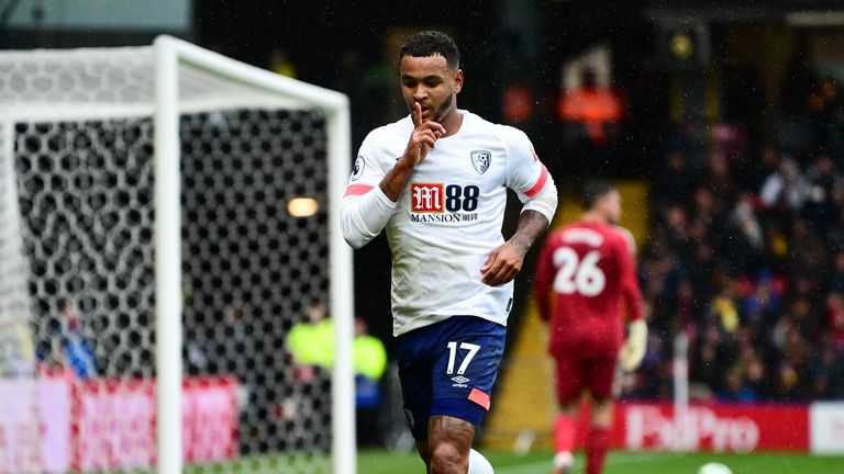 Josh King may return for Bournemouth against Arsenal