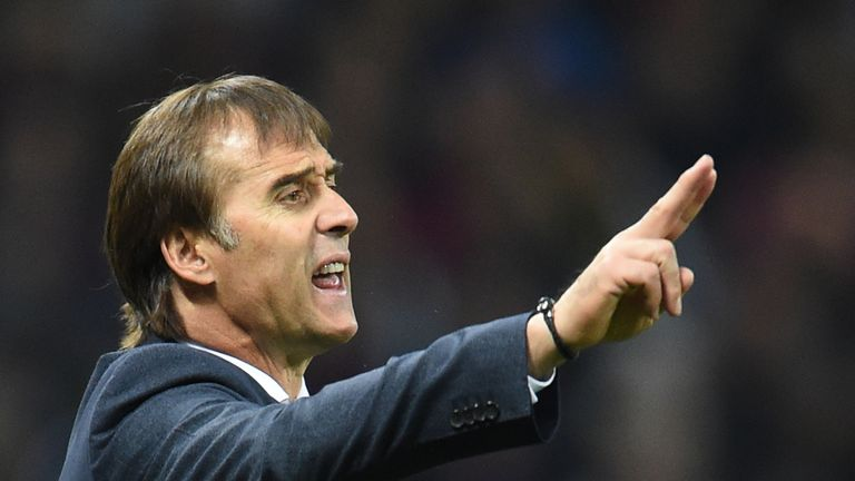 Julen Lopetegui is under pressure early on