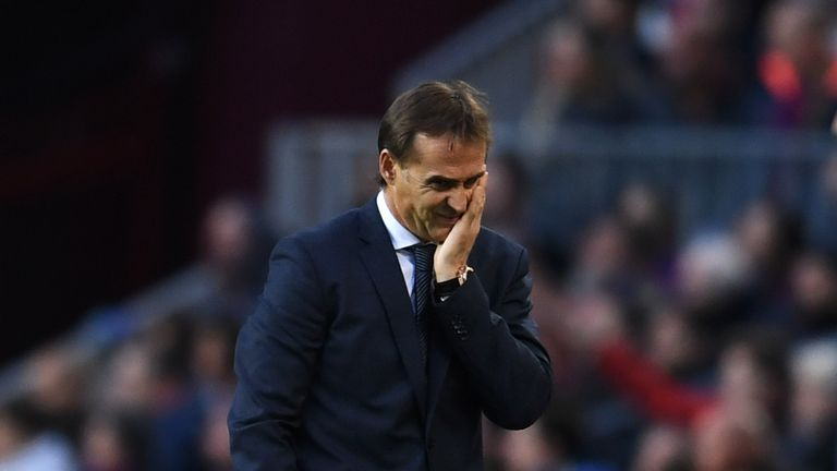 Julen Lopetegui was sacked by Real Madrid earlier this week