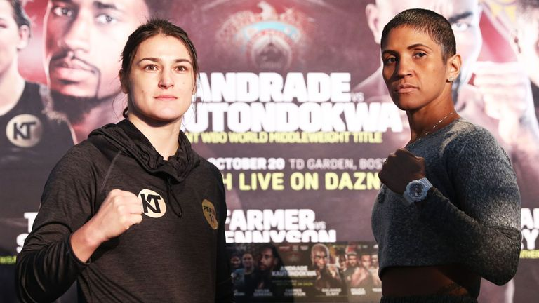 Katie Taylor slams Cindy Serrano's husband for his verbal abuse