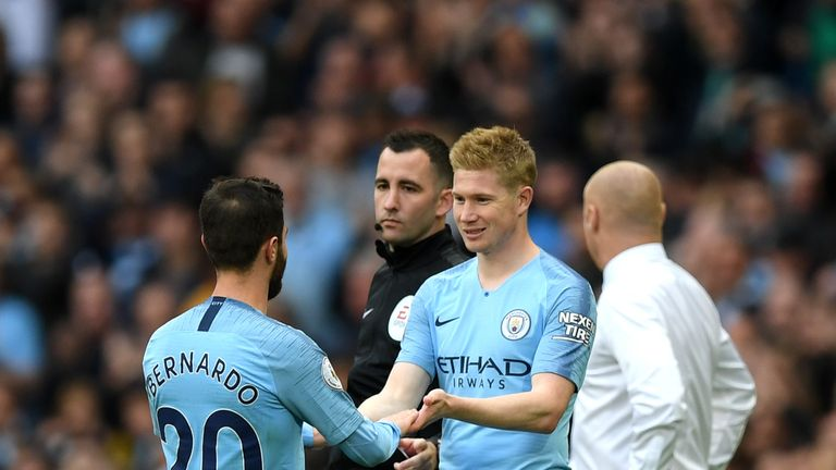 Kevin De Bruyne could start in Ukraine on Tuesday after returning from injury on the weekend