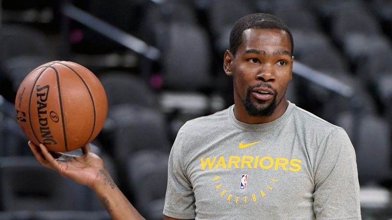 Kevin Durant says expectations are rising