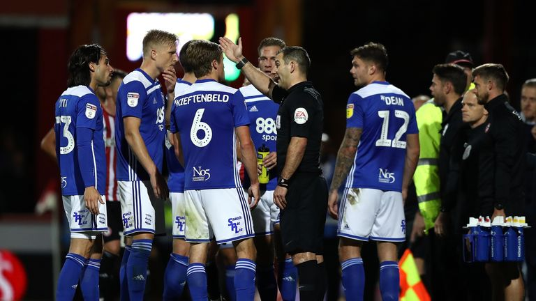 Birmingham successfully appealed Kieftenbeld's red card