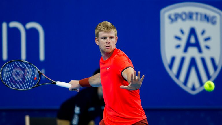 Britain's Kyle Edmund won the ATP 250 European Open in Antwerp