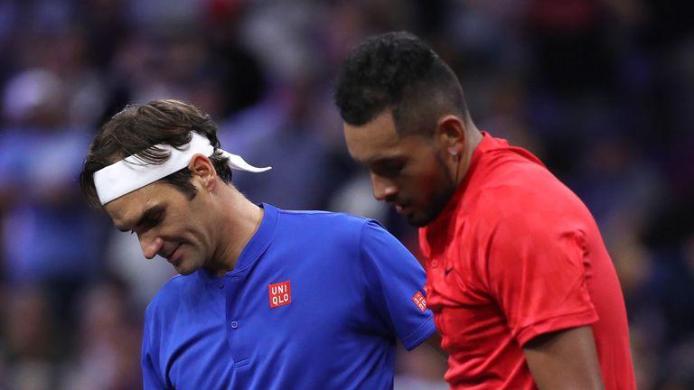 Federer warns Kyrgios over work ethic after Shanghai strop