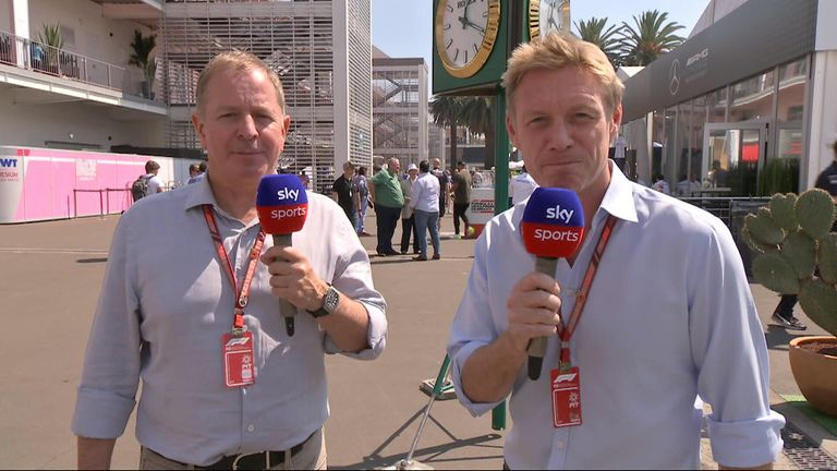 Simon Lazenby and Martin Brundle discuss the major talking points ahead of the Mexican GP.