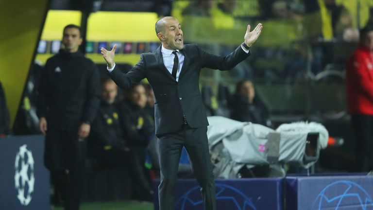 Monaco sack Jardim 17 months after Ligue 1 title triumph