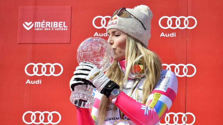 Vonn won gold at the 2010 Winter Olympics in Vancouver