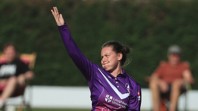 Left-arm medium bowler Linsey Smith made an impression this summer for Loughborough Lightning