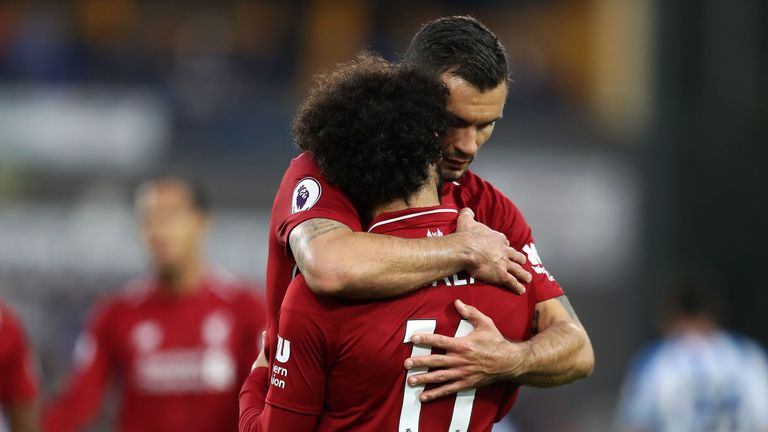Mohamed Salah proved decisive as Dejan Lovren helped Liverpool to a sixth Premier League clean sheet in nine matches