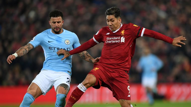 Liverpool and Man City go head to head on Sunday