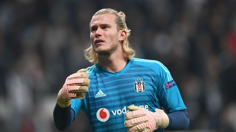 Loris Karius has played every minute for Besiktas since joining on loan