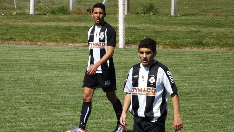 Lucas Torreira spent a year with Montevideo Wanderers U17s