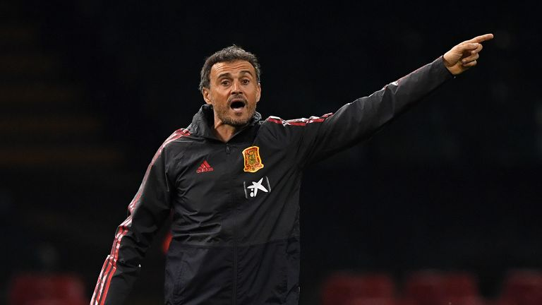 Luis Enrique is looking to put his own stamp on the Spanish national team