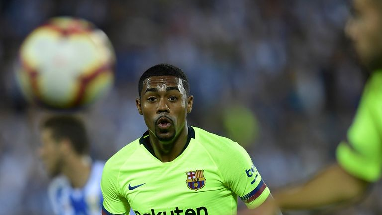 Barcelona winger Malcom is reportedly an Everton transfer target