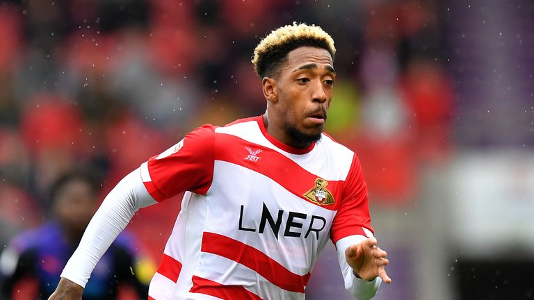 Mallik Wilks is currently on loan at Doncaster from Leeds