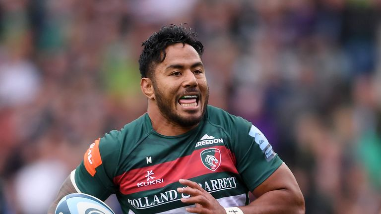 Leicester's Manu Tuilagi is out of contract in the summer